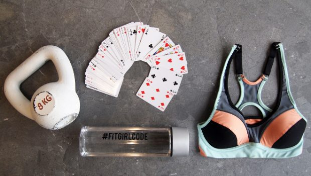 the card game workout