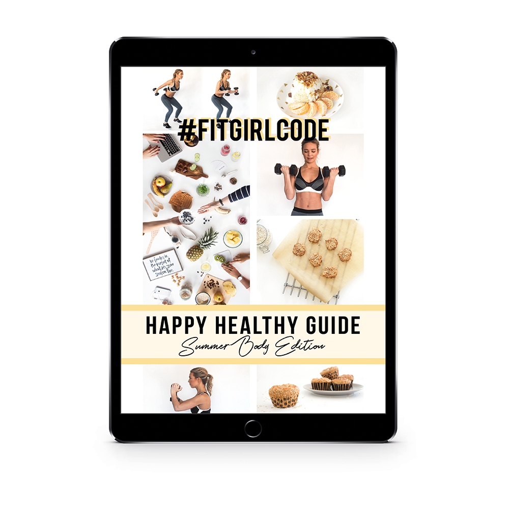 happy healthy guide: summer body edition
