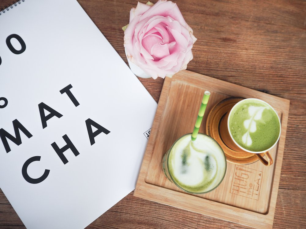 De lekkerste matcha drinks bij Hug the Tea