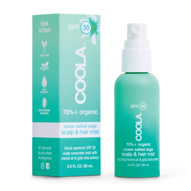 Coola organic sunscreen